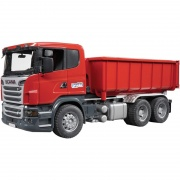 Scania LKW mit Abrollcontainer - SCANIA LKW MIT ABROLLCONTAINER 3522